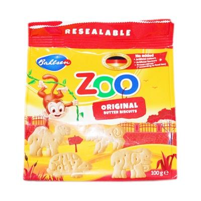 Bahlsen Zoo Original Butter Biscuits 100g