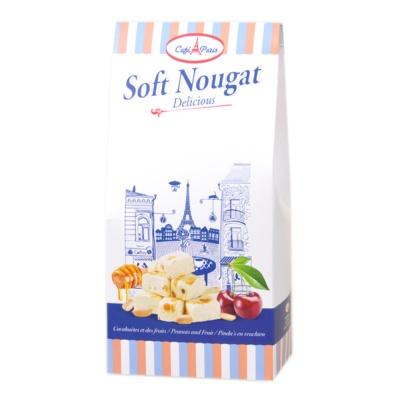 MILANOWEK米兰花生杂果味软牛轧糖 150g