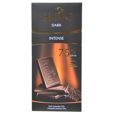 Heidi Dark Chocolate 75% 80g