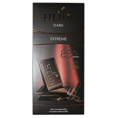 Heidi Extreme Dark Chocolate 85% 80g
