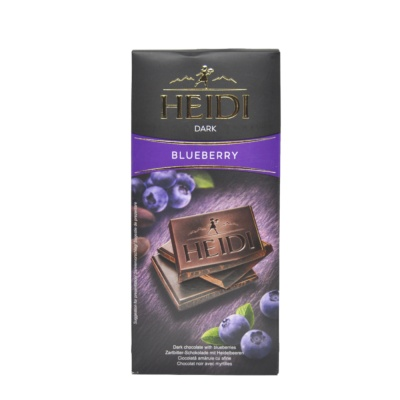 Heidi Bluberry Dark Chocolate 80g