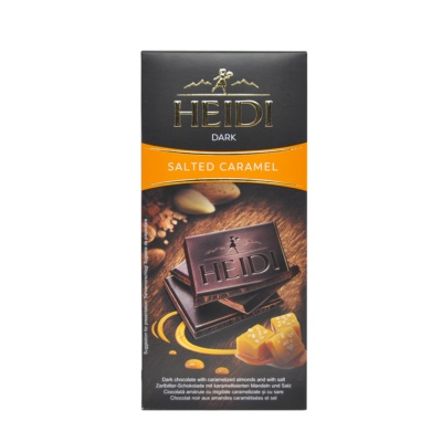Heidi Salted Caramel Dark Chocolate 100g