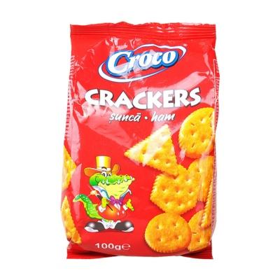 Croco Ham Crakers 100g