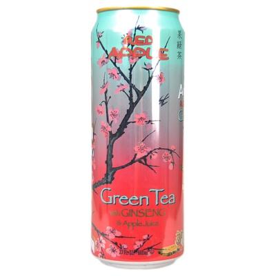 亚利桑那冰茶饮料(绿茶红苹果味) 680ml