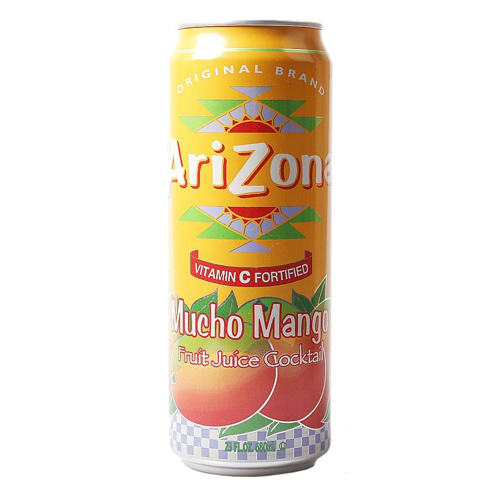 Arizona Mucho Mango Iced Tea 680ml