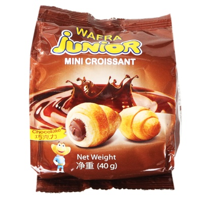 Junior Mini Croissants (Chocolate) 40g