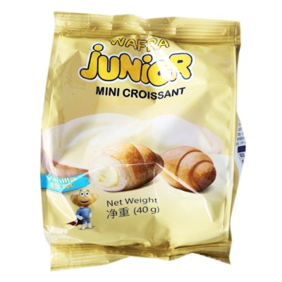 Junior Mini Croissants (Vanilla) 40g