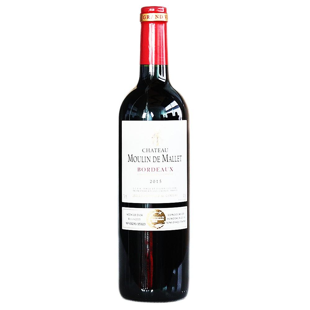 Chateau Moulin De Mallet Red Wine 750ml