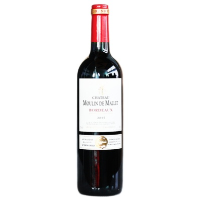 Chateau Moulin De Mallet Red Wine 750ml