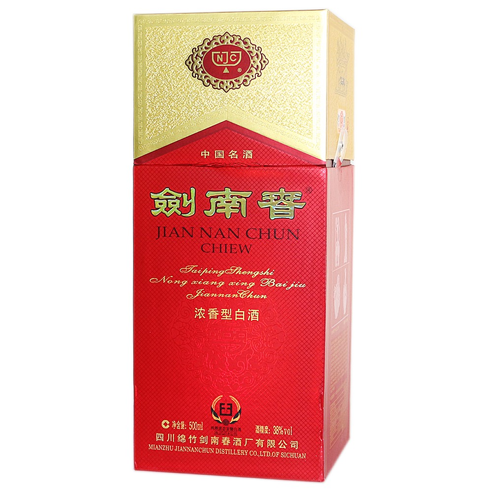 Jiannanchun Liquor (38°) 500ml
