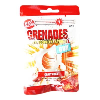 Grenades Crazy Cola Artificially Flavored Gum 30g