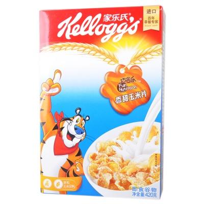 家乐氏香甜玉米片 420g