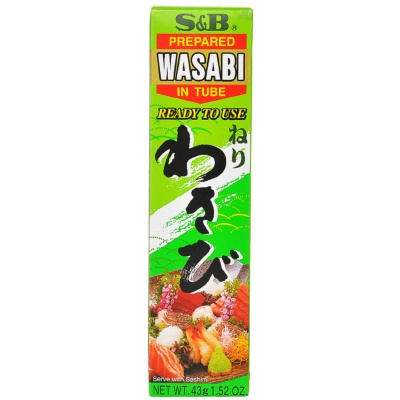 S&B Prepared in Tube Wasabi 43g