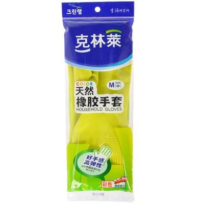 克林莱彩色橡胶手套中长型 (M)