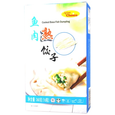 Asian Choice Cooked Basa Fish Dumpling 360g
