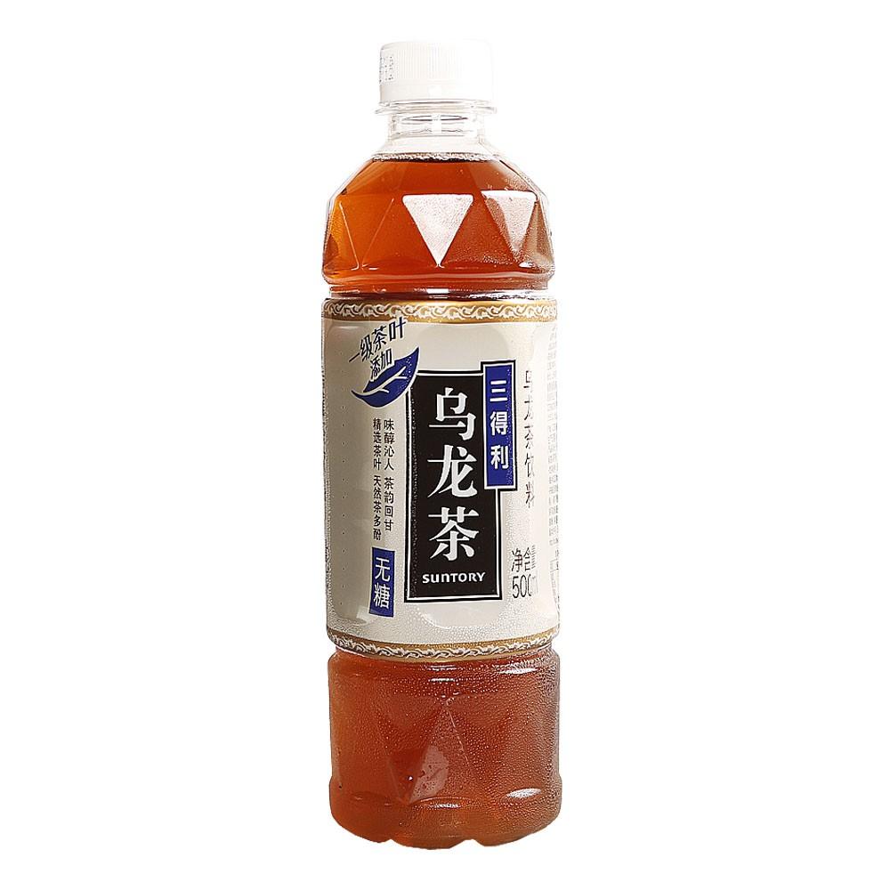 三得利无糖乌龙茶 500ml