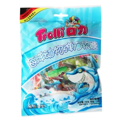 口力海洋动物弹力软糖(鲨鱼造型) 100g