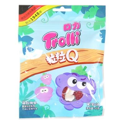 Trolli Q Grape Gum 60g