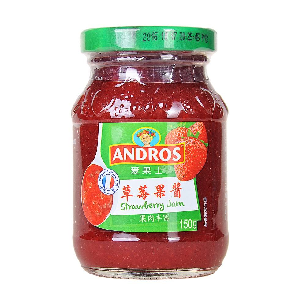 Andros Strawberry Jam 150g