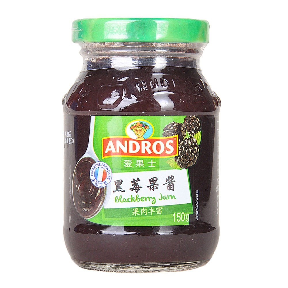 Andros Blackberry Jam 150g