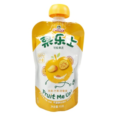 Fruit Me Up Apple & Mango & Passionfruit Puree 113g