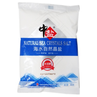 China Salt Natural Crystal Seasalt 300g