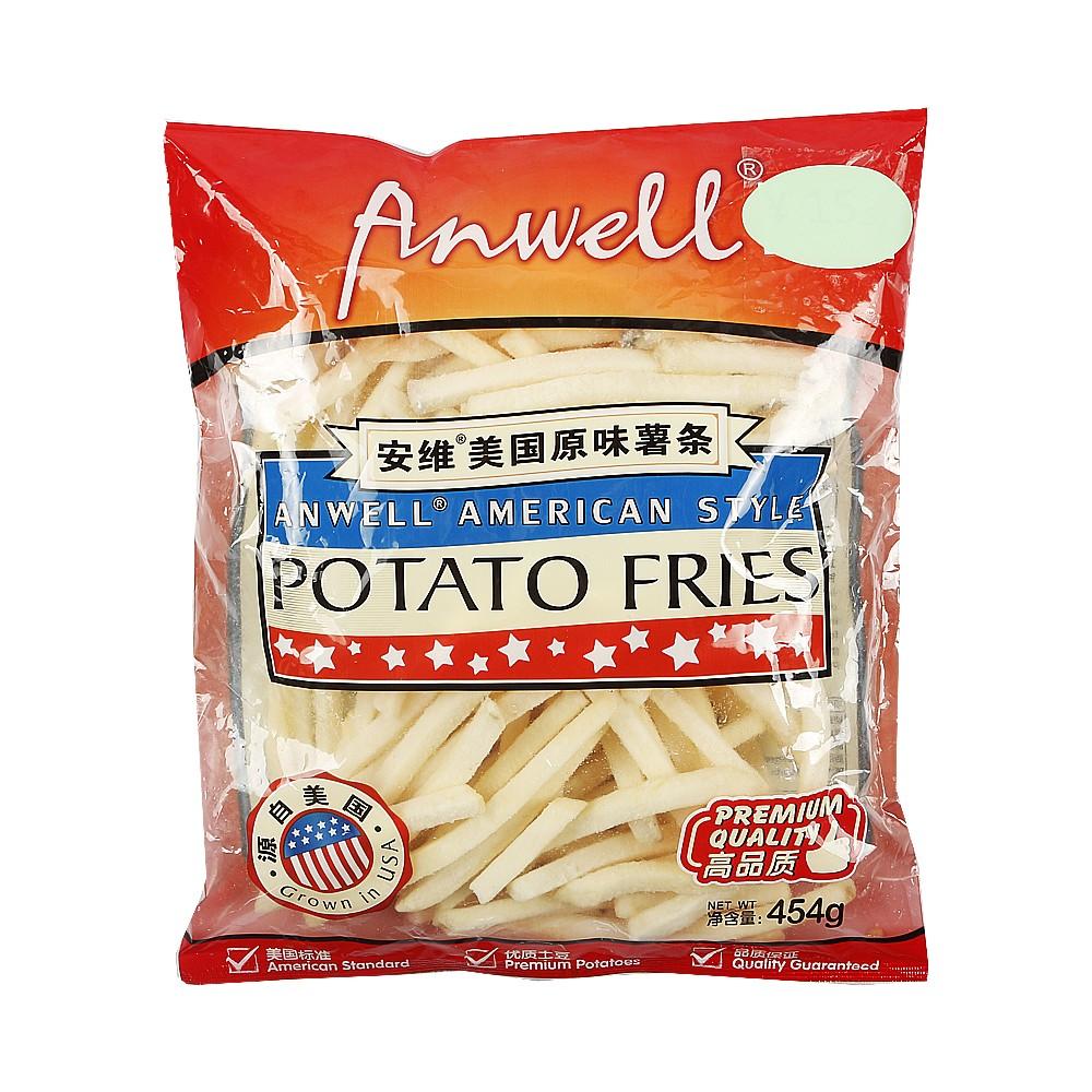 Anwell American Style Potato Fries 400g