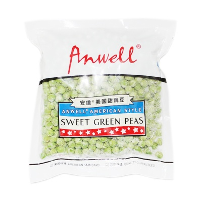 Anwell American Style Sweet Green Peas 300g
