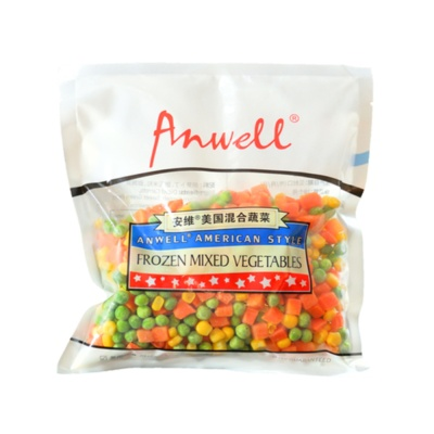 Anwell American Style Frozen Mixed Vegetables 300g