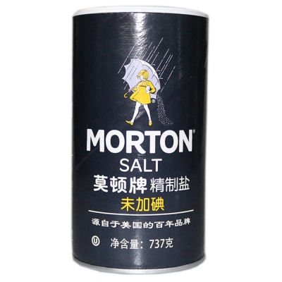 Morton No Iodine Salt 737g