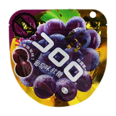 Uha Grape Flavored Gummy 52g