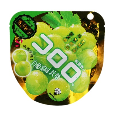 悠哈-酷露露白葡萄味果汁软糖 52g