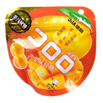 UHA Mango Gummy Jelly Drops 52g