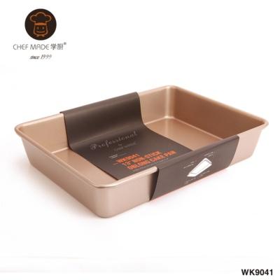 13寸不粘加深长方形烤盘(金色) 1043g