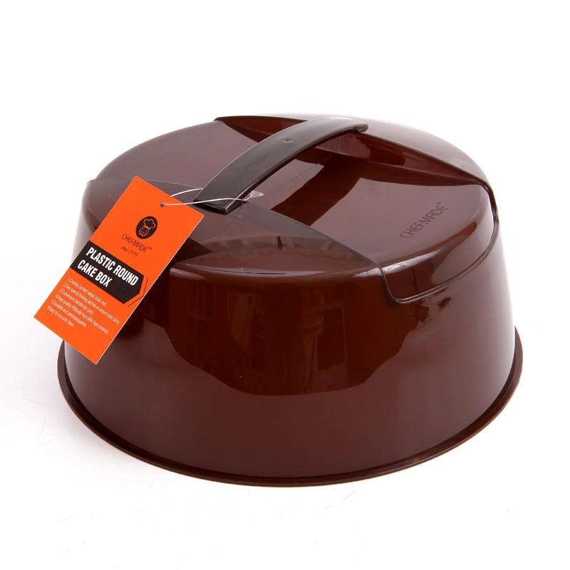 Chefmade Plastic Round Cake Box 520g