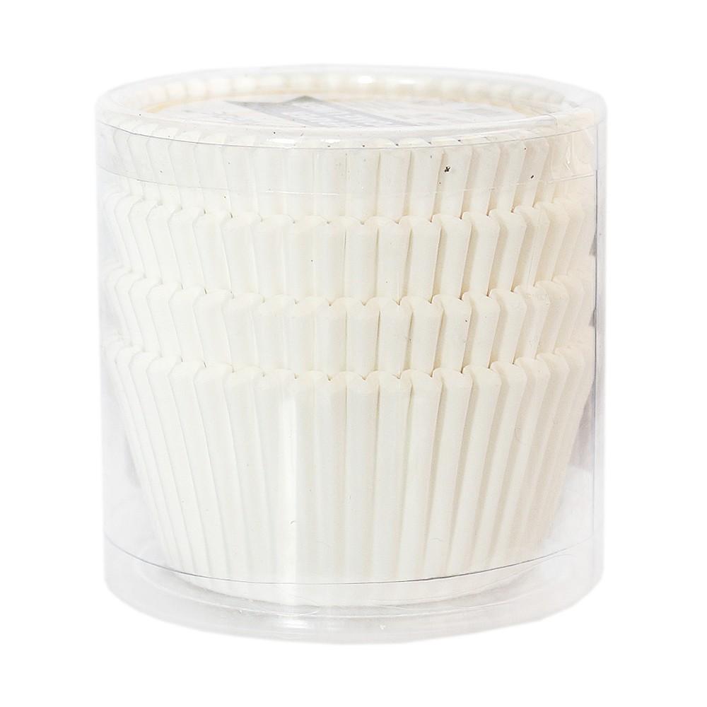 Chefmrde 2#Paper Cupcake Liner(White) 11.5*3.3cm(100pcs)