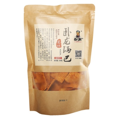 Wolong Rice Crust Spicy 240g