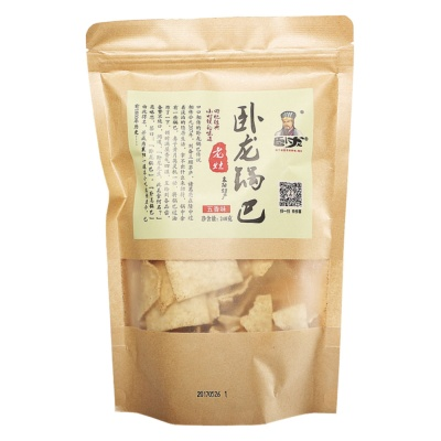 Wolong Rice Crust Five Spices Flavor 240g