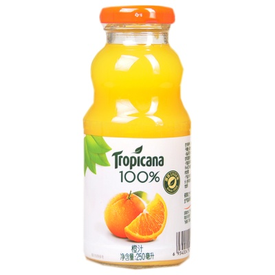 Tropicana 100% Orange Juice 250ml