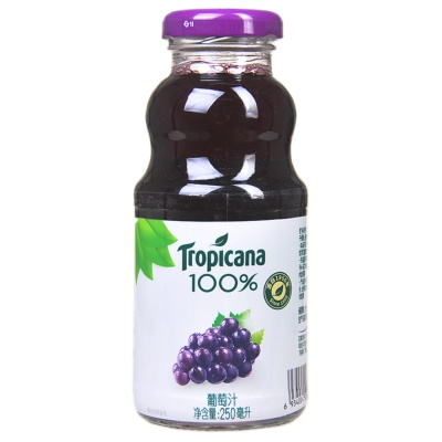 Tropicana 100% Grape Juice 250ml