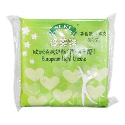 多美鲜欧洲淡味奶酪(再制干酪) 150g
