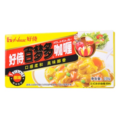 House Foods Natural Curry 100g