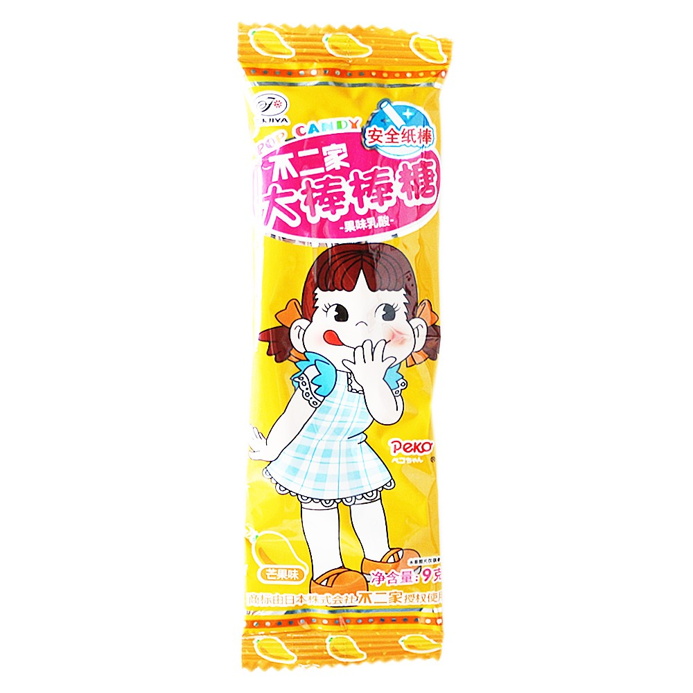 Fujiya Pop Candy (Pineapple Mango Strawberry Green Apple) 9g