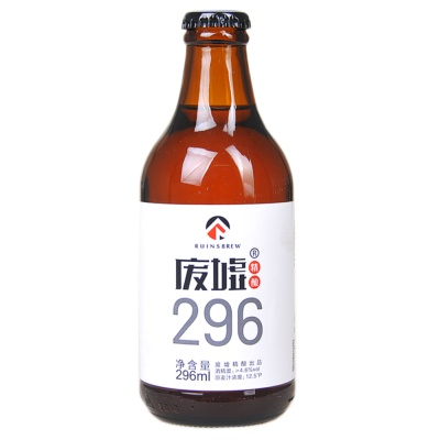 Ruinsbrew 296 Traditional Craft Beer 296ml