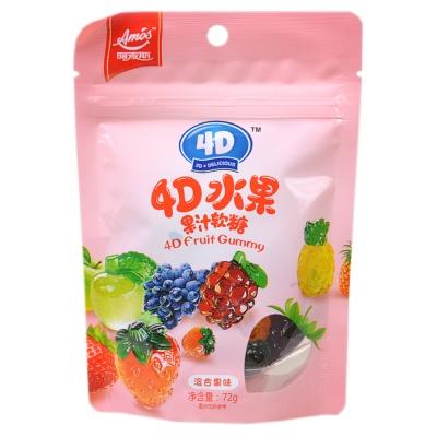 4D Fruit Gummy 72g