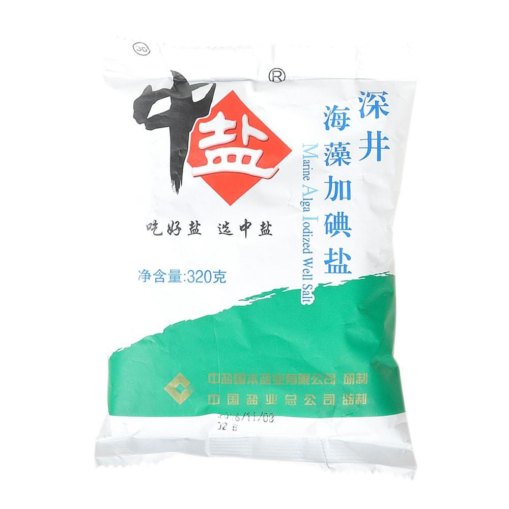 China Salt Alga Iodine Salt 320g