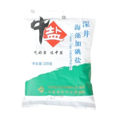 China Salt Alga Iodine Salt 320g