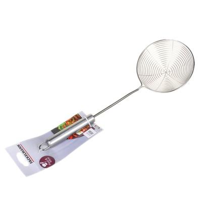 不锈钢圆柄网状漏勺 12cm 1p