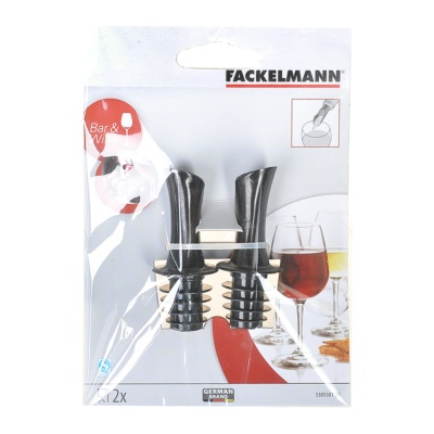 Fackelmann Pourer Set (Oil/Vinegar/Wine) 1p