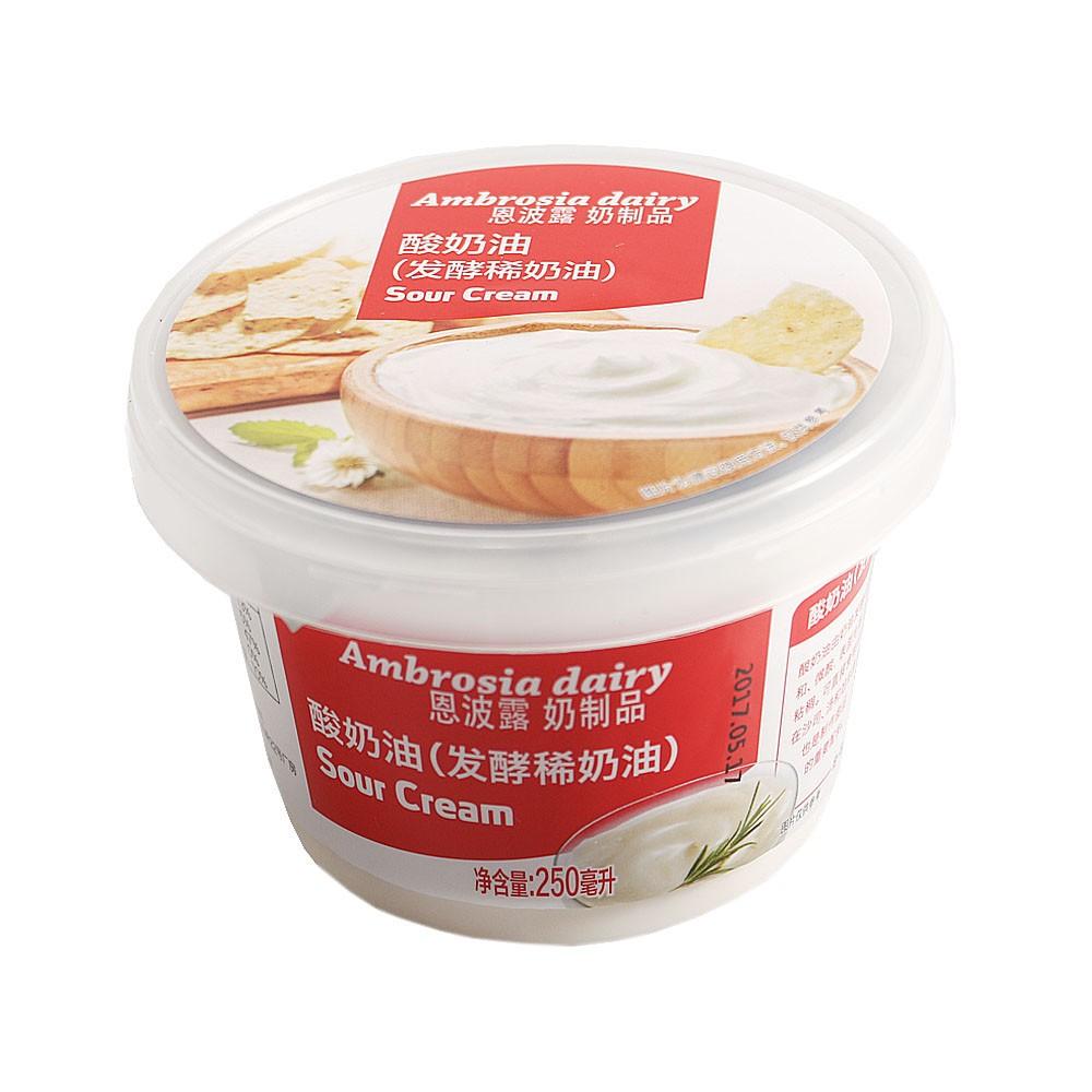 Ambrosia Sour Cream 250ml